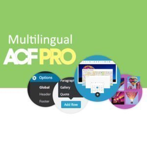 Sale! Buy Discount Advanced Custom Fields Multilingual - Cheap Discount Price