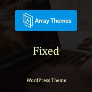 Sale! Buy Discount Array Themes Fixed WordPress Theme - Cheap Discount Price