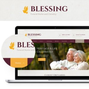 Sale! Buy Discount Blessing   Funeral Home WordPress Theme - Cheap Discount Price