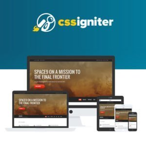 Sale! Buy Discount CSS Igniter Space9 WordPress Theme - Cheap Discount Price