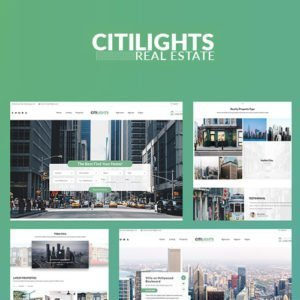Sale! Buy Discount CitiLights – Real Estate WordPress Theme - Cheap Discount Price