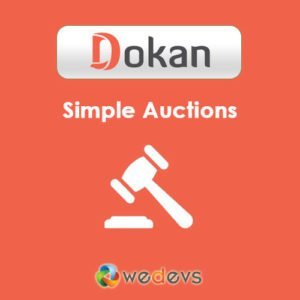 Sale! Buy Discount Dokan – Simple Auctions Integration - Cheap Discount Price