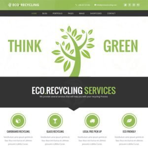 Sale! Buy Discount Eco Recycling – Ecology & Nature WordPress Theme - Cheap Discount Price