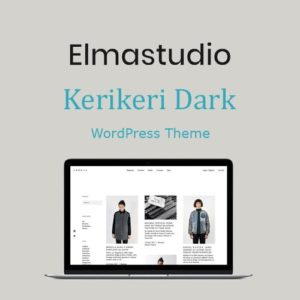 Sale! Buy Discount ElmaStudio Kerikeri Dark WordPress Theme - Cheap Discount Price
