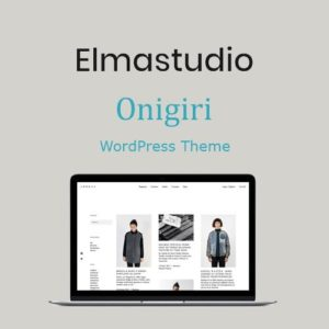 Sale! Buy Discount ElmaStudio Onigiri WordPress Theme - Cheap Discount Price