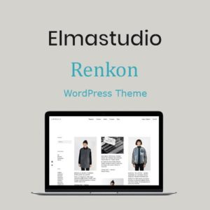 Sale! Buy Discount ElmaStudio Renkon WordPress Theme - Cheap Discount Price