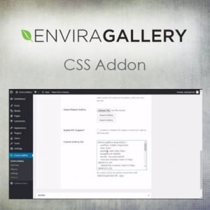 Sale! Buy Discount Envira Gallery – CSS Addon - Cheap Discount Price