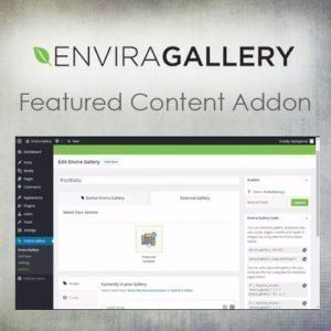 Sale! Buy Discount Envira Gallery – Featured Content Addon - Cheap Discount Price