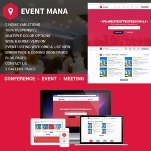 Sale! Buy Discount Event Management WordPress Theme - Cheap Discount Price