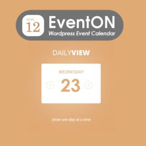 Sale! Buy Discount EventOn Daily View - Cheap Discount Price