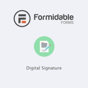 Sale! Buy Discount Formidable Forms – Digital Signature - Cheap Discount Price