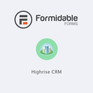Sale! Buy Discount Formidable Forms – Highrise CRM - Cheap Discount Price