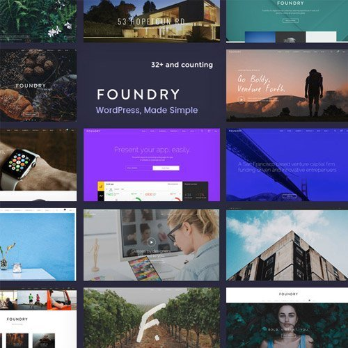 Sale! Buy Discount Foundry – Multipurpose, Multi-Concept WP Theme - Cheap Discount Price