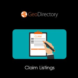 Sale! Buy Discount GeoDirectory Claim Listings - Cheap Discount Price