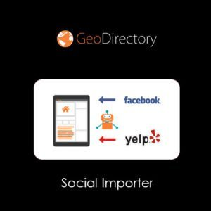 Sale! Buy Discount GeoDirectory Social Importer - Cheap Discount Price