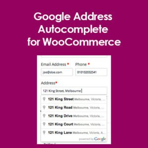 Sale! Buy Discount Google Address Autocomplete for WooCommerce - Cheap Discount Price