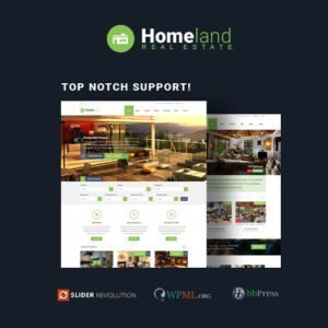Sale! Buy Discount Homeland – Responsive Real Estate Theme for WordPress - Cheap Discount Price
