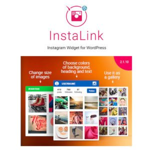 Sale! Buy Discount Instagram Widget – WordPress Instagram Widget - Cheap Discount Price