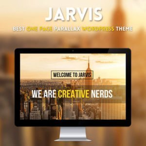 Sale! Buy Discount Jarvis – Onepage Parallax WordPress Theme - Cheap Discount Price