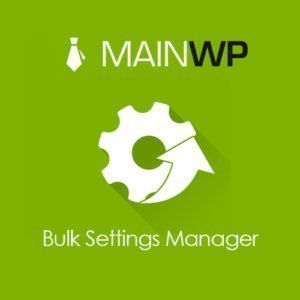 Sale! Buy Discount MainWP Bulk Settings Manager - Cheap Discount Price