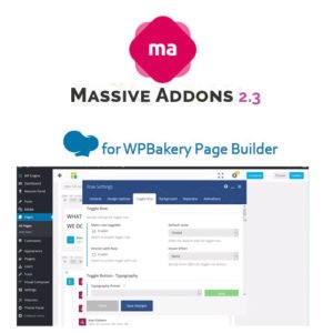 Sale! Buy Discount Massive Addons for WPBakery Page Builder - Cheap Discount Price