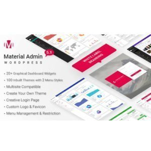 Sale! Buy Discount Material – White Label WordPress Admin Theme - Cheap Discount Price