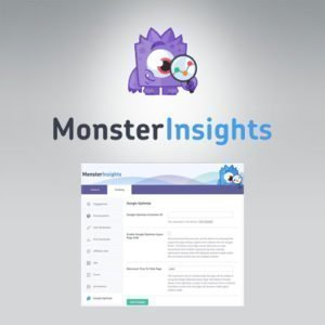 Sale! Buy Discount MonsterInsights – Google Optimize Addon - Cheap Discount Price