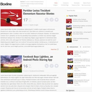 Sale! Buy Discount MyThemeShop Boxline WordPress Theme - Cheap Discount Price