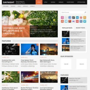 Sale! Buy Discount MyThemeShop Daynight WordPress Theme - Cheap Discount Price