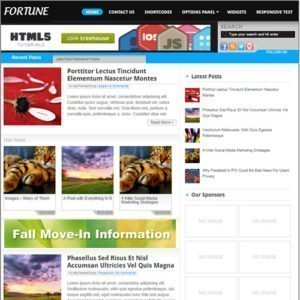 Sale! Buy Discount MyThemeShop Fortune WordPress Theme - Cheap Discount Price