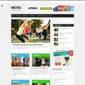 Sale! Buy Discount MyThemeShop Metro WordPress Theme - Cheap Discount Price