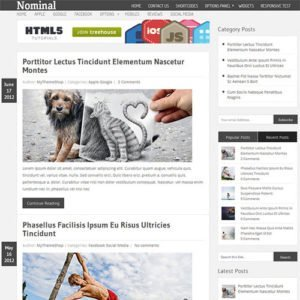 Sale! Buy Discount MyThemeShop Nominal WordPress Theme - Cheap Discount Price