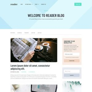 Sale! Buy Discount MyThemeShop Reader WordPress Theme - Cheap Discount Price