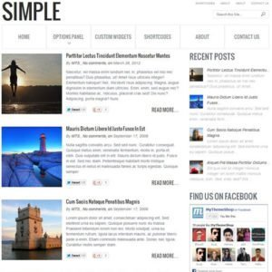 Sale! Buy Discount MyThemeShop Simple WordPress Theme - Cheap Discount Price