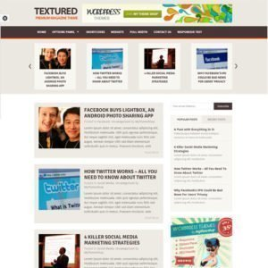 Sale! Buy Discount MyThemeShop Textured WordPress Theme - Cheap Discount Price