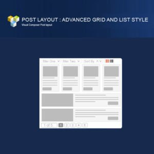 Sale! Buy Discount PW Grid/List Post Layout For Visual Composer - Cheap Discount Price