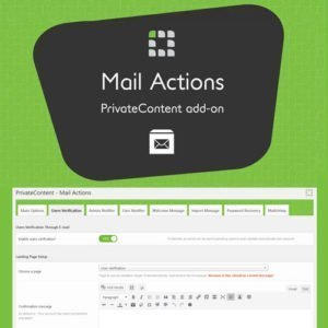 Sale! Buy Discount PrivateContent – Mail Actions Add-on - Cheap Discount Price