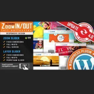 Sale! Buy Discount Responsive Zoom In/Out Slider WordPress Plugin - Cheap Discount Price