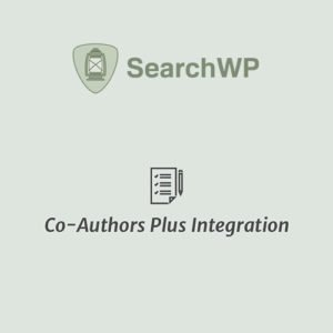 Sale! Buy Discount SearchWP Co-Authors Plus Integration - Cheap Discount Price