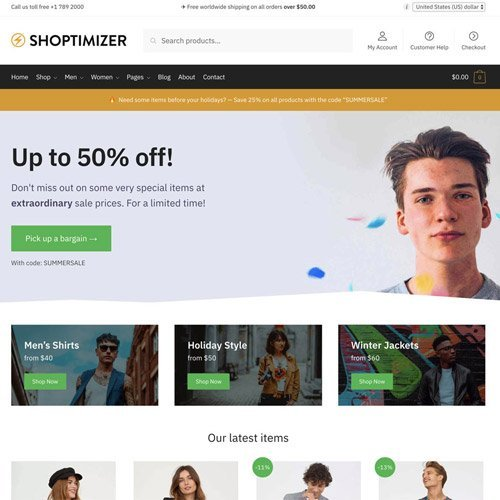 Sale! Buy Discount Shoptimizer – Fastest WooCommerce WordPress Themes - Cheap Discount Price