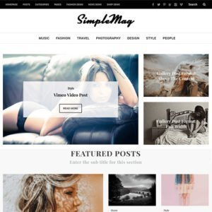 Sale! Buy Discount SimpleMag – Magazine theme for creative stuff - Cheap Discount Price