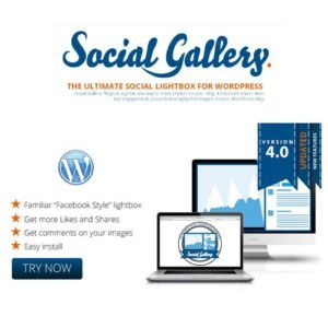 Sale! Buy Discount Social Gallery WordPress Photo Viewer Plugin - Cheap Discount Price