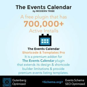 Sale! Buy Discount The Events Calendar Shortcode and Templates Pro – WordPress Plugin - Cheap Discount Price