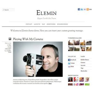 Sale! Buy Discount Themify Elemin WordPress Theme - Cheap Discount Price