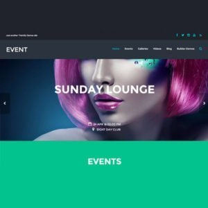 Sale! Buy Discount Themify Event WordPress Theme - Cheap Discount Price