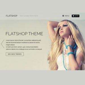 Sale! Buy Discount Themify Flatshop WooCommerce Theme - Cheap Discount Price