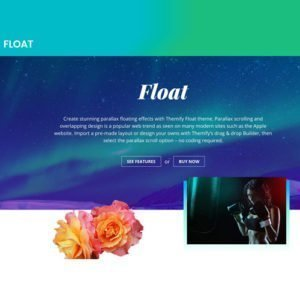 Sale! Buy Discount Themify Float WordPress Theme - Cheap Discount Price