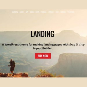 Sale! Buy Discount Themify Landing WordPress Theme - Cheap Discount Price