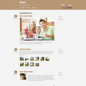 Sale! Buy Discount Themify Minblr WordPress Theme - Cheap Discount Price