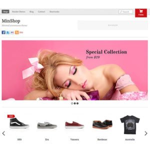Sale! Buy Discount Themify Minshop WooCommerce Theme - Cheap Discount Price